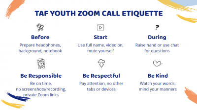 Youth Zoom Etiquette
